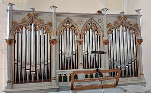 Orgel in St. Leonhard